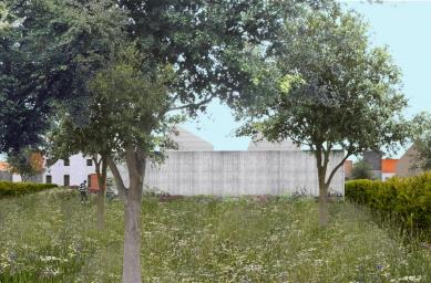 Sídlo firmy Elklima - Koláž zadní části - foto: žalský architekti
