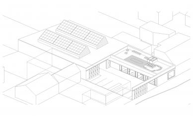 Sídlo firmy Elklima - Axonometrie - foto: žalský architekti