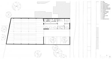 Sídlo firmy Elklima - Půdorys přízemí - foto: žalský architekti