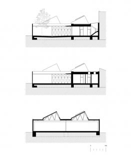 Sídlo firmy Elklima - Řezy - foto: žalský architekti