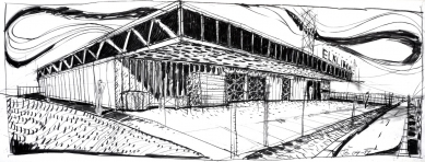 Sídlo firmy Elklima - Skica - foto: žalský architekti