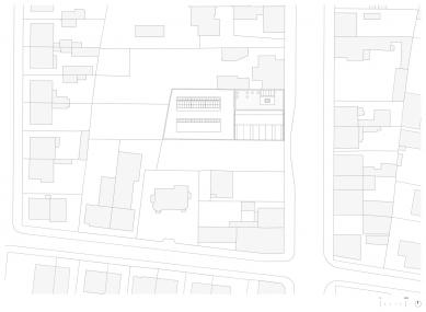 Sídlo firmy Elklima - Situace - foto: žalský architekti