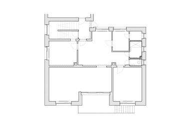 Byt M13 - Původní stav - foto: GRAU architects
