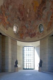 Pavilon pro Reinerovu fresku u zámku Duchcov - foto: Petr Šmídek, 2020