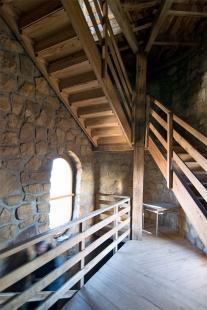 Turistická kamenná rozhledna Brdo – Chřiby - foto: Petr Šmídek, 2009