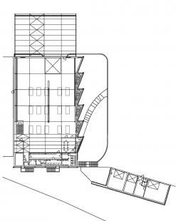Průmyslová hala Liko-Vo - Půdorys 1.np - foto: Fránek architects