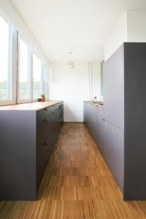 Experimentální byt na experimentálním sídlišti Invalidovna - foto: Ing. arch. Petra Měrková