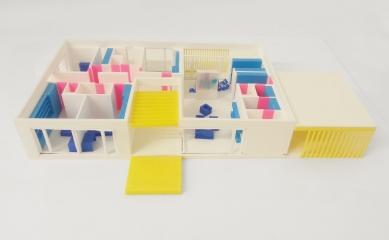 Rodinný dům v Kunovicích - Pracovní model