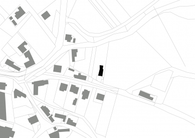 Dům v Lubné - Situace - foto: Studio New Work