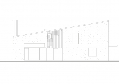 Dům v Lubné - Pohled - foto: Studio New Work