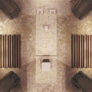 Oltářní ostrov v lineckém Mariánském chrámu - foto: Rafael Portugal