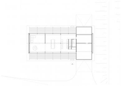 House D - Půdorys přízemí - foto: Aretz Dürr Architektur