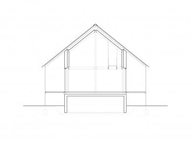 House D - Příčný řez - foto: Aretz Dürr Architektur