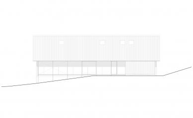 House D - Východní pohled - foto: Aretz Dürr Architektur