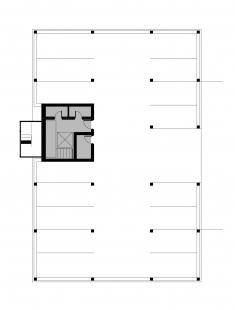 Bytové domy 13 a 22 v Podzámčí - Bytový dům 13 - půdorys suterénu