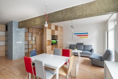 Rekonstrukce bytu Šumavská - foto: Martin Zeman
