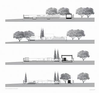 Estrela Cemetery - Řezy - foto: Pedro Pacheco arquitectos