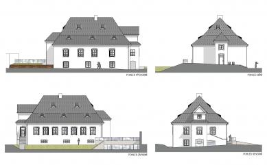 Rekonstrukce Müllerova domu - Pohledy