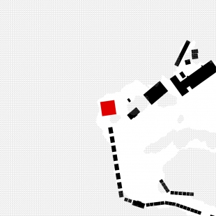 Rekreační areál Běstvina - hygienické zázemí - Situace - foto: žalský architekti