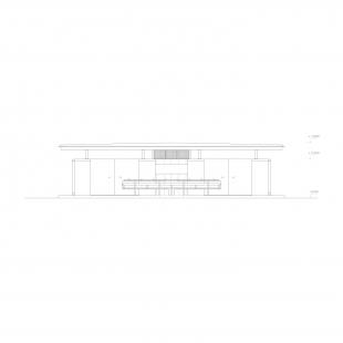 Rekreační areál Běstvina - hygienické zázemí - Pohled - foto: žalský architekti