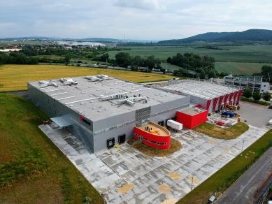 Výrobní hala WÜRTH