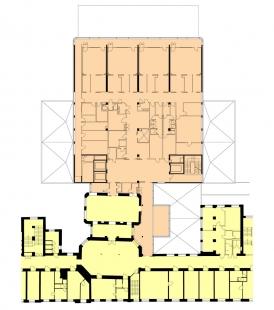Pavilon akutní medicíny nemocnice Milosrdných bratří - foto: Architektonická kancelář Burian - Křivinka