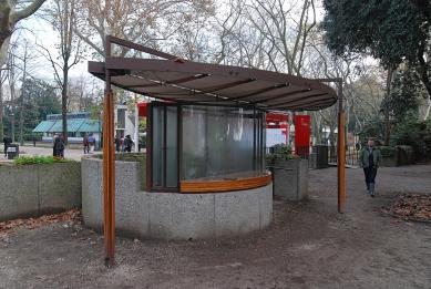 Ticket booth for the Venice Biennale - foto: Petr Šmídek, 2010