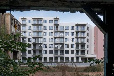 Bytový dům Spolková v Brně - foto: Ing. arch. Bořivoj Čapák