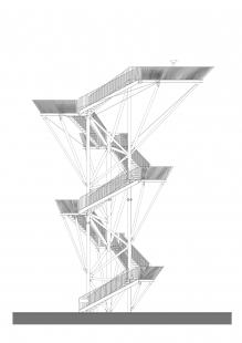 Vyhliadková veža na Devínskej Kobyle  - Pohled - foto: Architekti Šebo Lichý