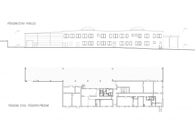 LANIK Headquarters - Původní stav
