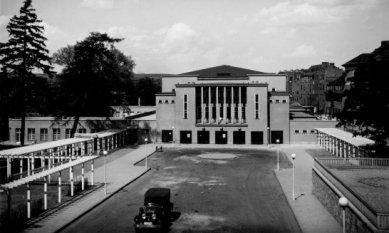 Kongresové centrum Nový výmarský sál - Historický snímek ze 30. let
