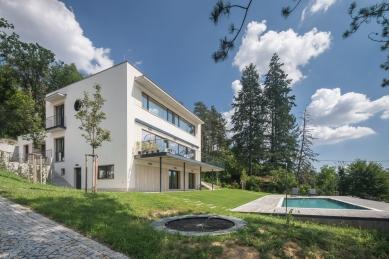 Vila Hrázní - foto: Ing. arch. Bořivoj Čapák