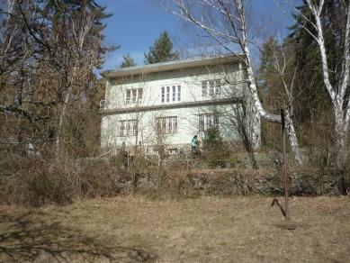 Vila Hrázní - Původní stav