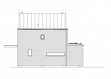 Rodinný dům v Hradištku pod Medníkem - Pohled severozápadní