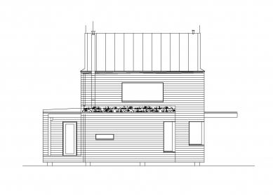 Rodinný dům v Hradištku pod Medníkem - Pohled jihovýchodní
