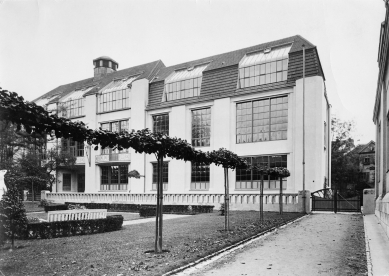 Velkovévodská saská umělecká škola ve Výmaru - Historický snímek