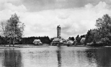 Hunting lodge St. Hubertus - Historický snímek