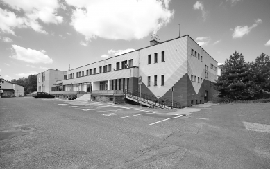Radnice a kulturní dům Chlumec - Fotografie původního stavu