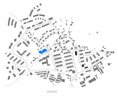 Radnice a kulturní dům Chlumec - Situace - foto: Ondřej Tuček