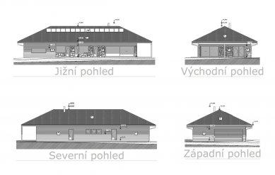 Rodinný dům Putim 03 - Pohledy