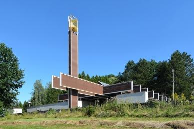 Smuteční síň v Luhačovicích - foto: Petr Šmídek, 2020