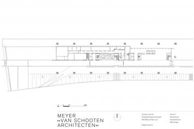 Hlavní sídlo společnosti ING - Půdorys přízemí - foto: MVSA Architects