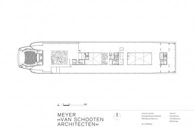 Hlavní sídlo společnosti ING - Půdorys 3.np - foto: MVSA Architects