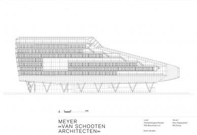 Hlavní sídlo společnosti ING - Severní pohled - foto: MVSA Architects