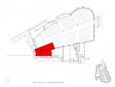 Finnish Pavilion Venice Biennale - Srovnání s luteránským kostelem Tří křížů (Vuoksenniskan kirkko) ve finském městě Imatra od Alvara Aalto z roku 1955-58