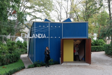 Finský pavilon v benátském Giardini - foto: Petr Šmídek, 2012