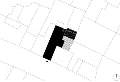 PřístavbakancelářeveVysokémMýtě - Situace - foto: Prokš Přikryl architekti