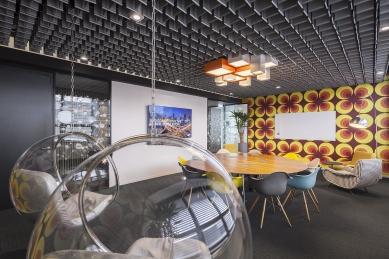 Interiér kanceláří firem SAP - foto: Lubor Sladký