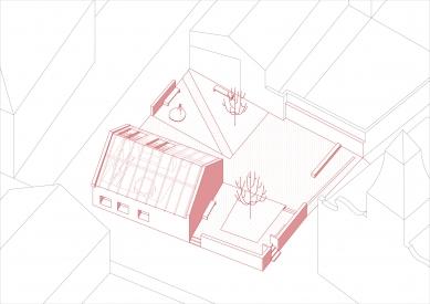 Open house - Axonometrie - foto: Studio NEW WORK
