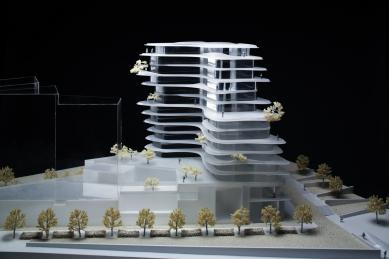 UNIC  - Fotografie modelu - foto: MAD Architects